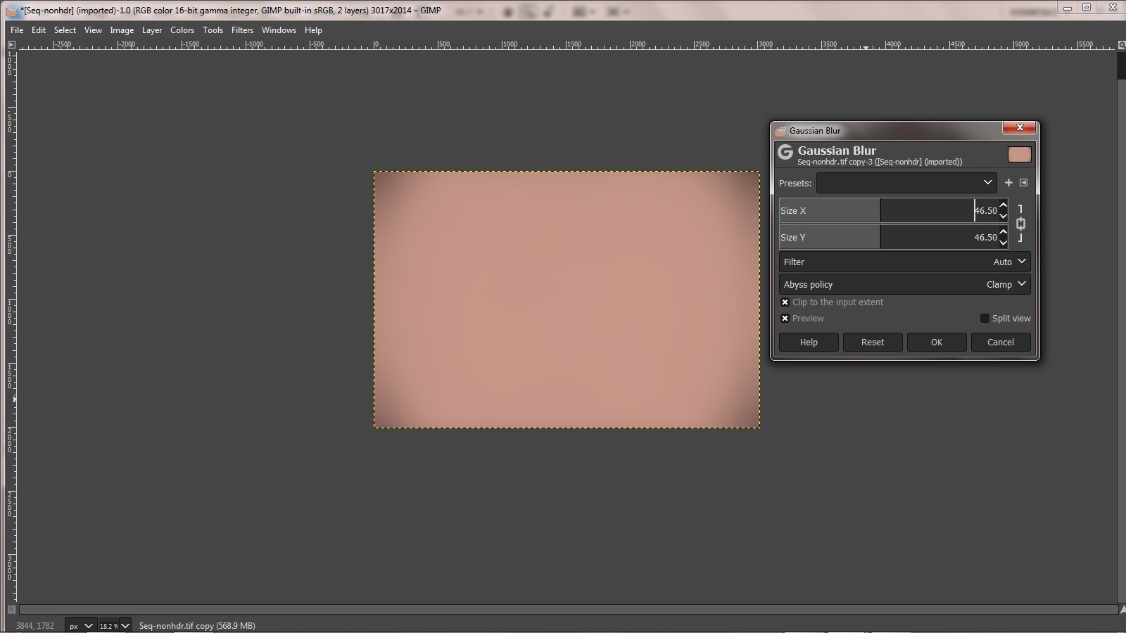 Removing Light Pollution in Adobe Photoshop and GIMP